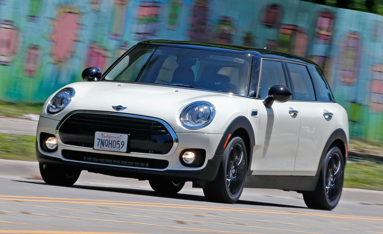 2016 Mini Cooper Clubman 15t Manual Test Review Car And Driver Photo